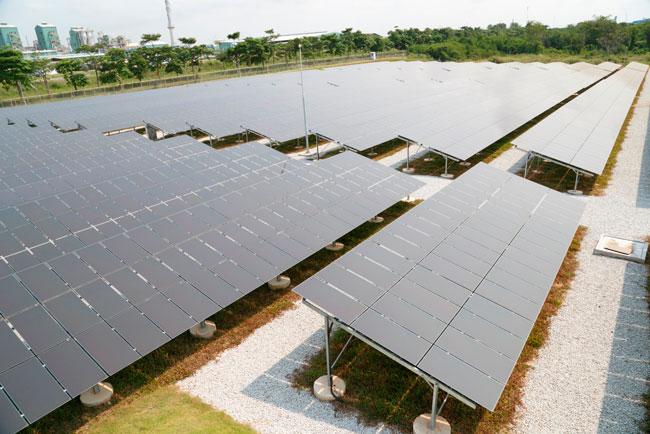 Glow Energy Solar plant